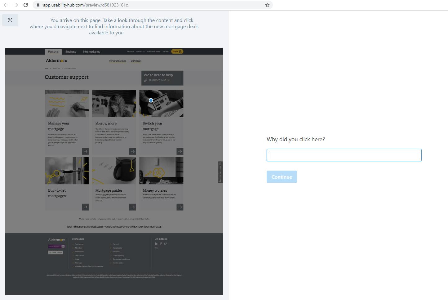 user-feedback-website-optimisation-test